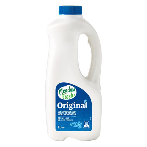 Meadow Fresh Original Milk 1L