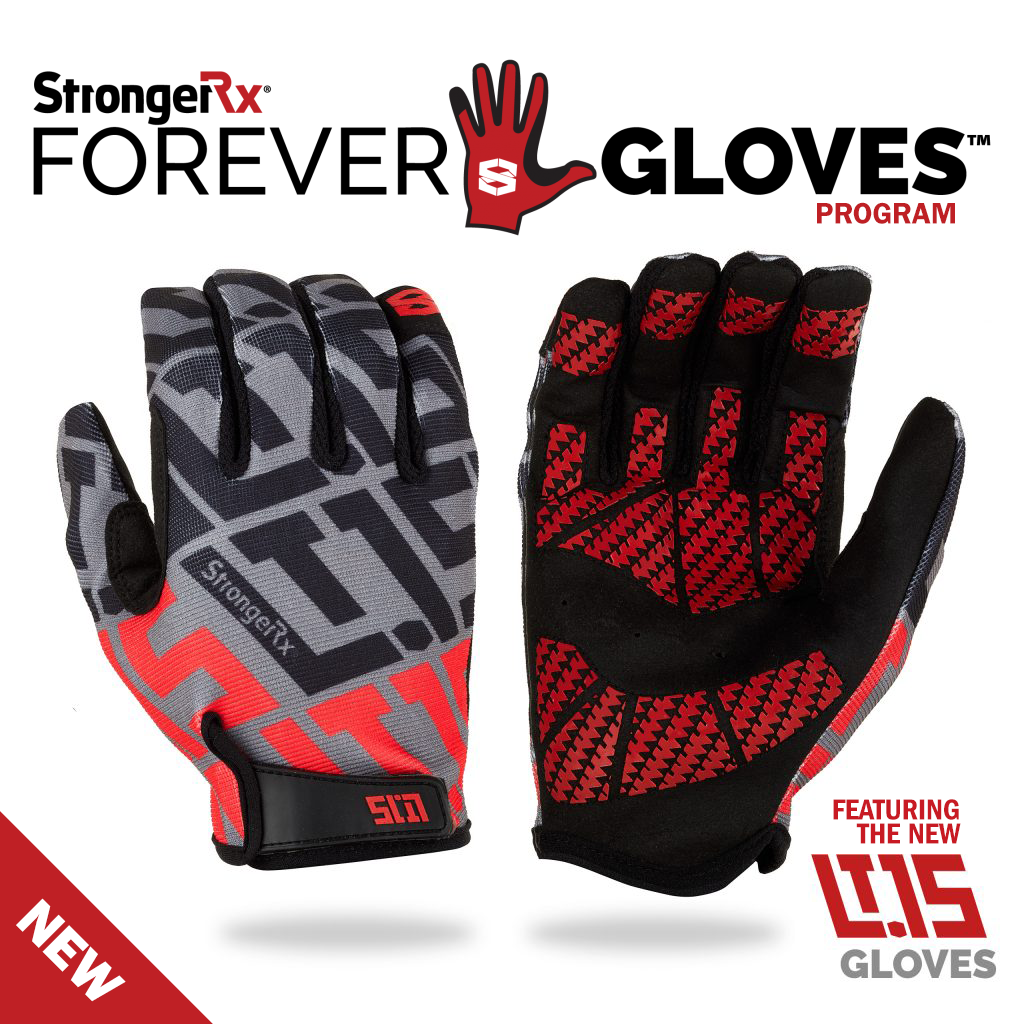 The New StrongerRx FROEVER GLOVES Program - Get Free Replacement Gloves FOREVER!