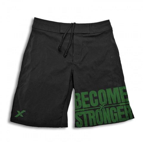 StrongerRX Become Stronger Shorts / Black - StrongerRX