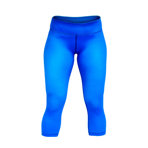 StrongerRX Seamless Capris / Blue - StrongerRX - 1