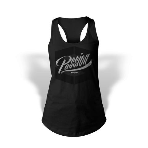 StrongerRX Passion Tank Top / Black