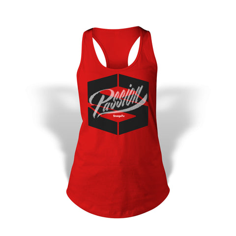 StrongerRX Passion Tank Top / Red