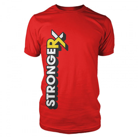 StrongerRX Comix T-Shirt - Red - StrongerRX