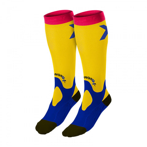 StrongerRX Recovery Socks / Yellow - StrongerRX - 1