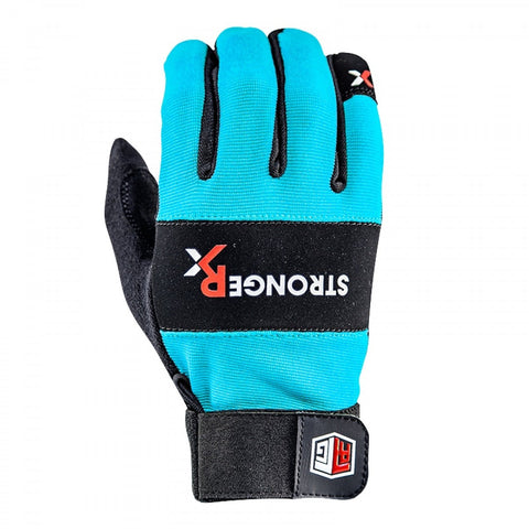 StrongerRx RTG WOD Fitness Gloves / Aqua - StrongerRX