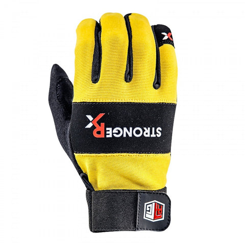 StrongerRx RTG WOD Fitness Gloves / Yellow - StrongerRX