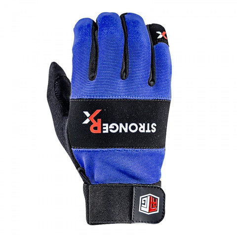 StrongerRx RTG WOD Fitness Gloves / Blue - StrongerRX