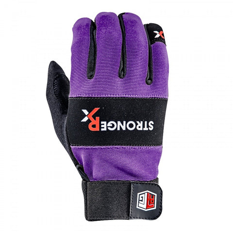 StrongerRx RTG WOD Fitness Gloves / Purple - StrongerRX