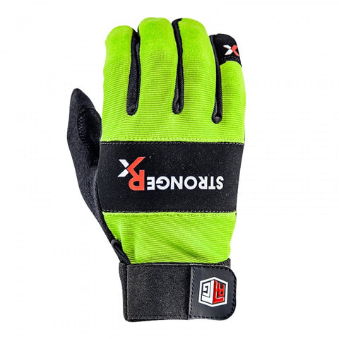 StrongerRx RTG WOD Fitness Gloves / Green - StrongerRX