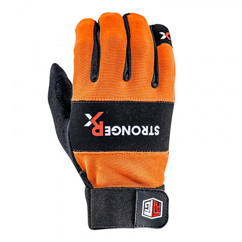 StrongerRx RTG WOD Fitness Gloves / Orange - StrongerRX