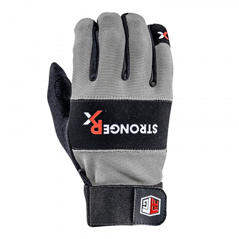 StrongerRx RTG WOD Fitness Gloves / Gray - StrongerRX