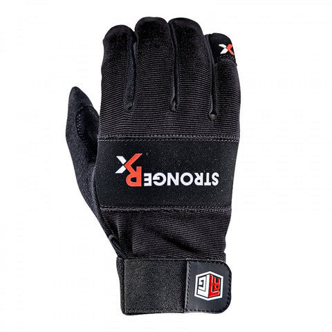 StrongerRx RTG WOD Fitness Gloves / Black - StrongerRX