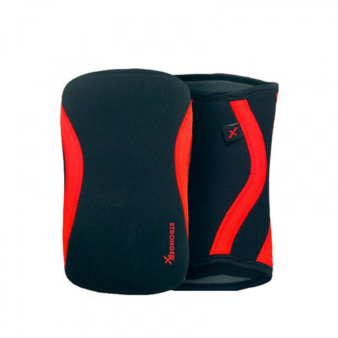 StrongerRX TR3 Knee Sleeves / Black - StrongerRX