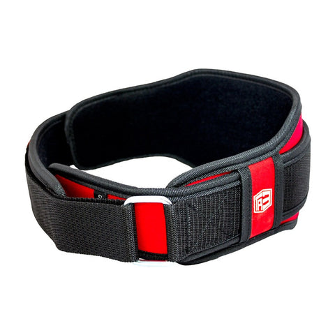 StrongerRX TR3 Weight Lifting Belt - Red - StrongerRX - 3