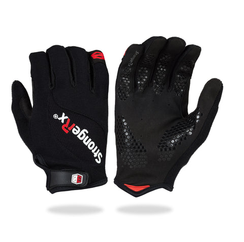 StrongerRx 3.0 WOD Fitness Gloves - Black - StrongerRX