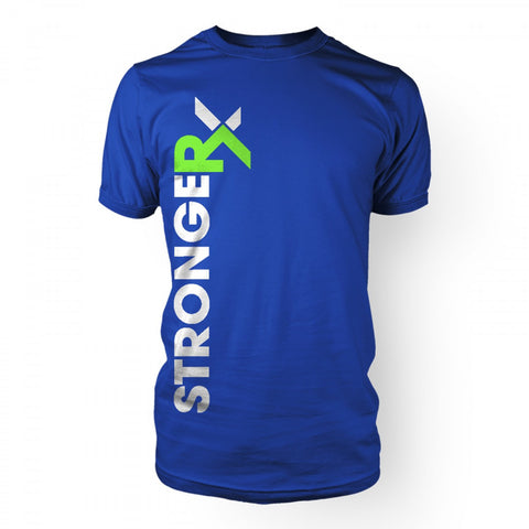 StrongerRX Superblend T-Shirt / Blue - StrongerRX