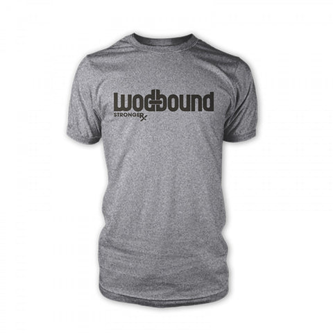 StrongerRX WOD Bound T-Shirt - Gray - StrongerRX