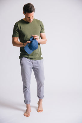 TOM Vintage Washed T-shirt - Forest Green