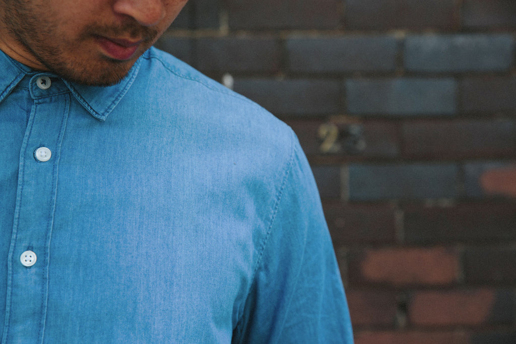 NORMAN Light Denim Shirt