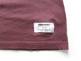 TOM Vintage Washed T-shirt - Brick Red