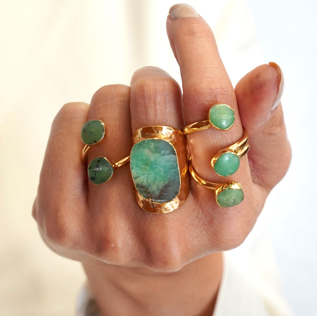 Jade Ring Double