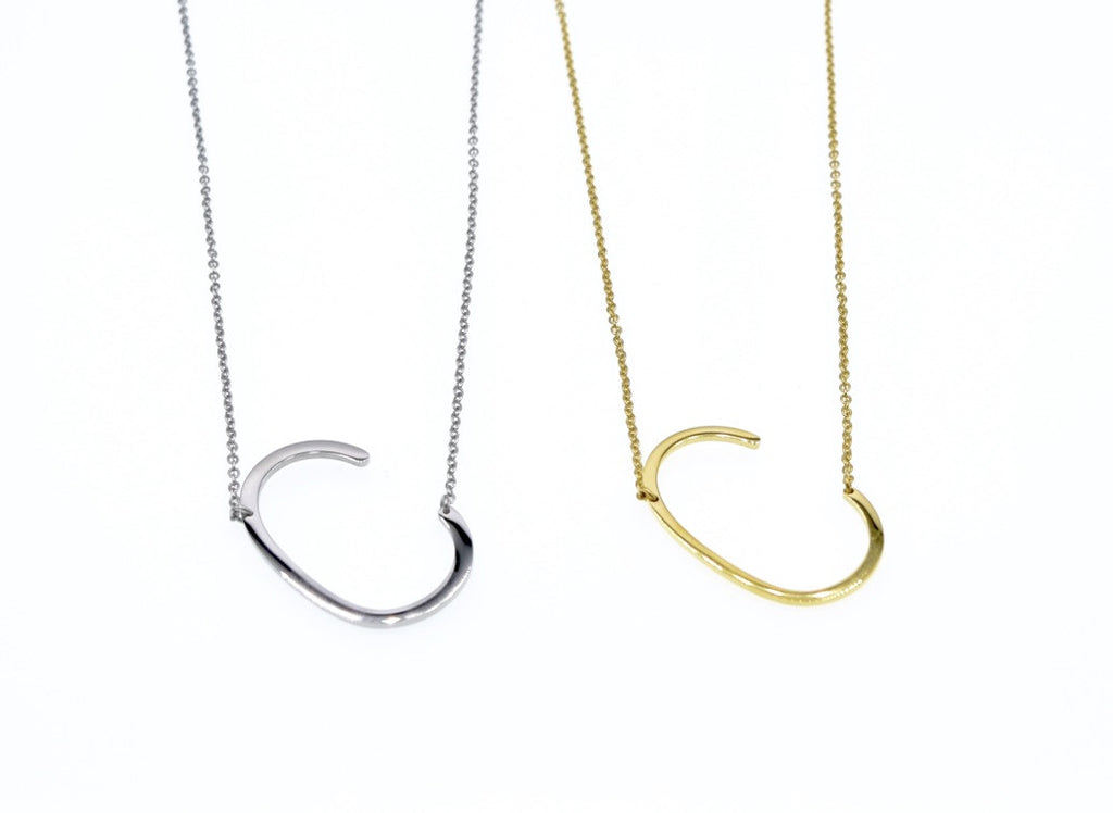 Initial Letter Necklace C