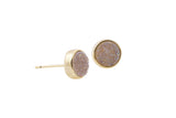 Druzy Julia Studs Gold - By MAQ