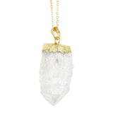 Crystal Quartz Carol Necklace