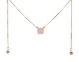 5 WAY NECKLACE ROSE GOLD