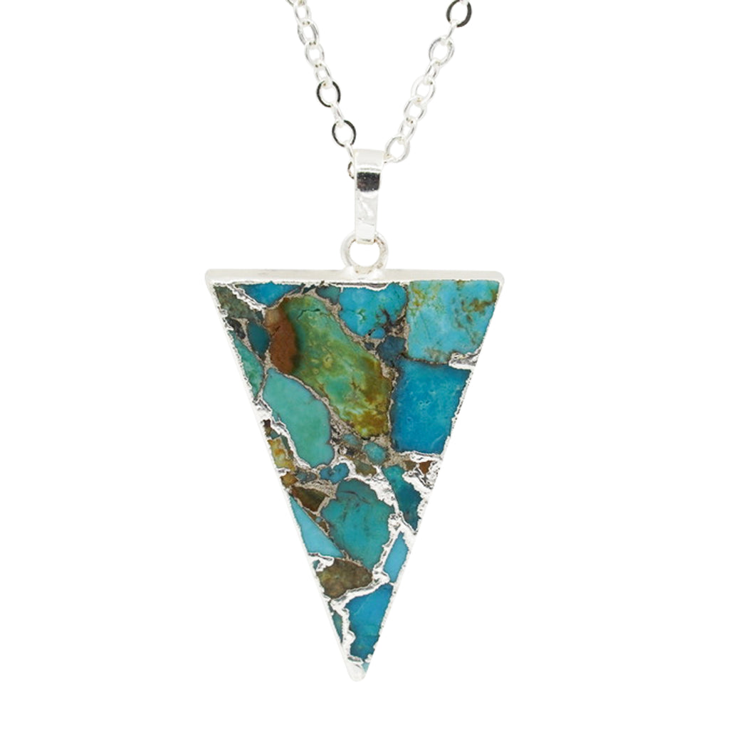 Natural Turquoise Diana Necklace