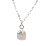 Crystal Quartz Alessia Necklace