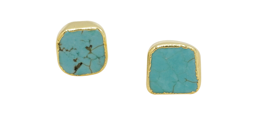 Turquoise Avery Studs