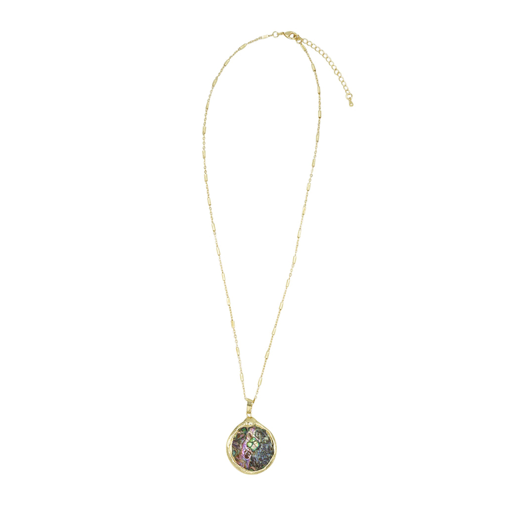 Abalone Cadence Necklace