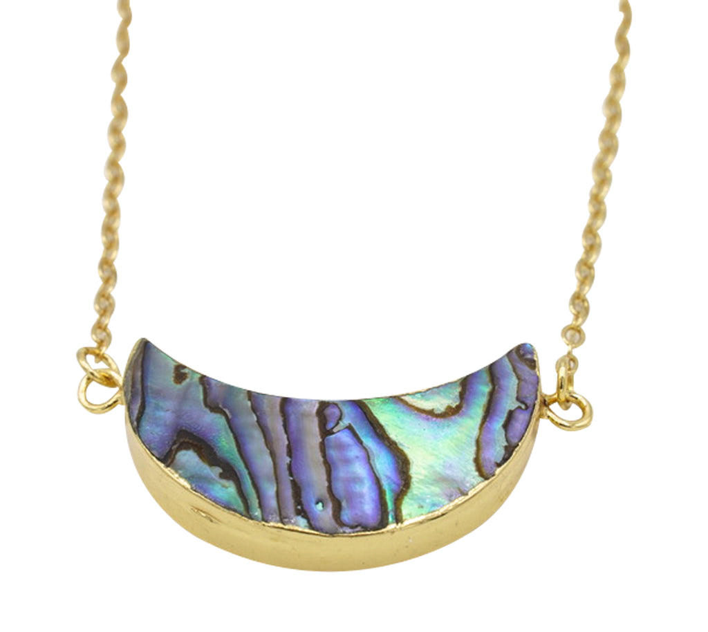 Abalone Shell Cara Necklace