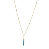 Natural Turquoise Vera Necklace