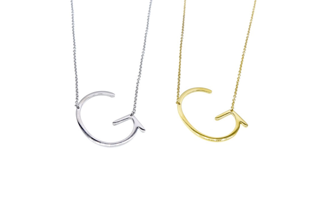 Initial Letter Necklace G