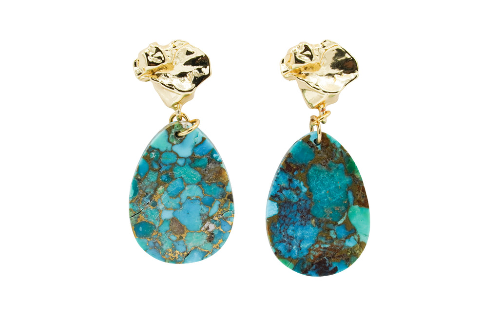 Turquoise Lulu Earrings