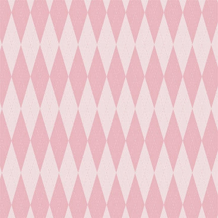 Argyle Backdrop Baby Girl Pink