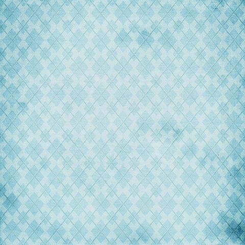 Argyle Backdrop Blue Grunge