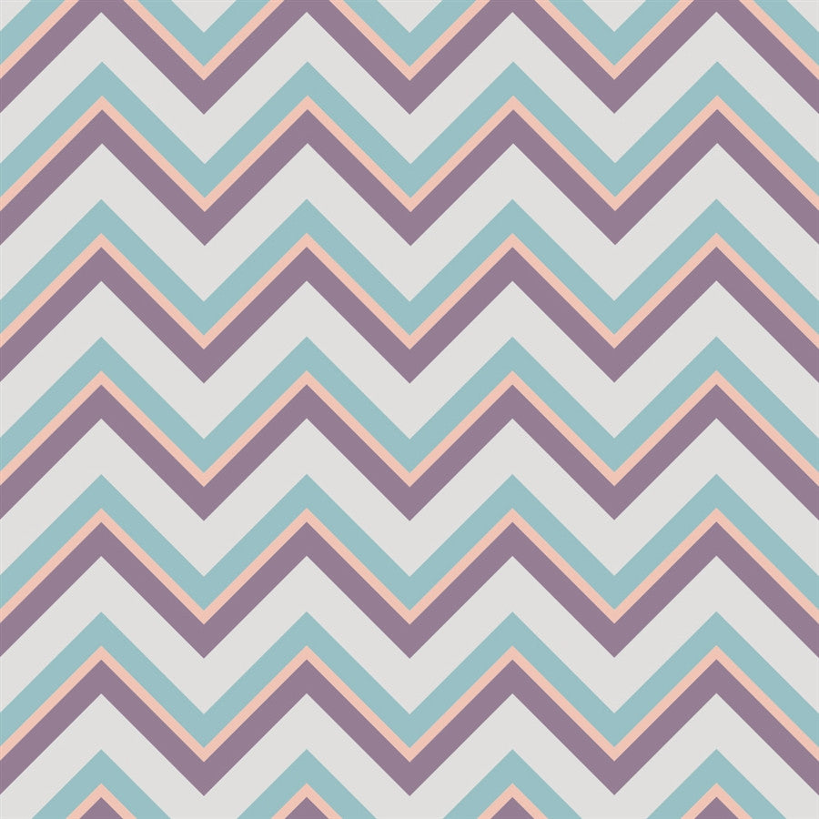 Chevron Backdrop Aspen Gray