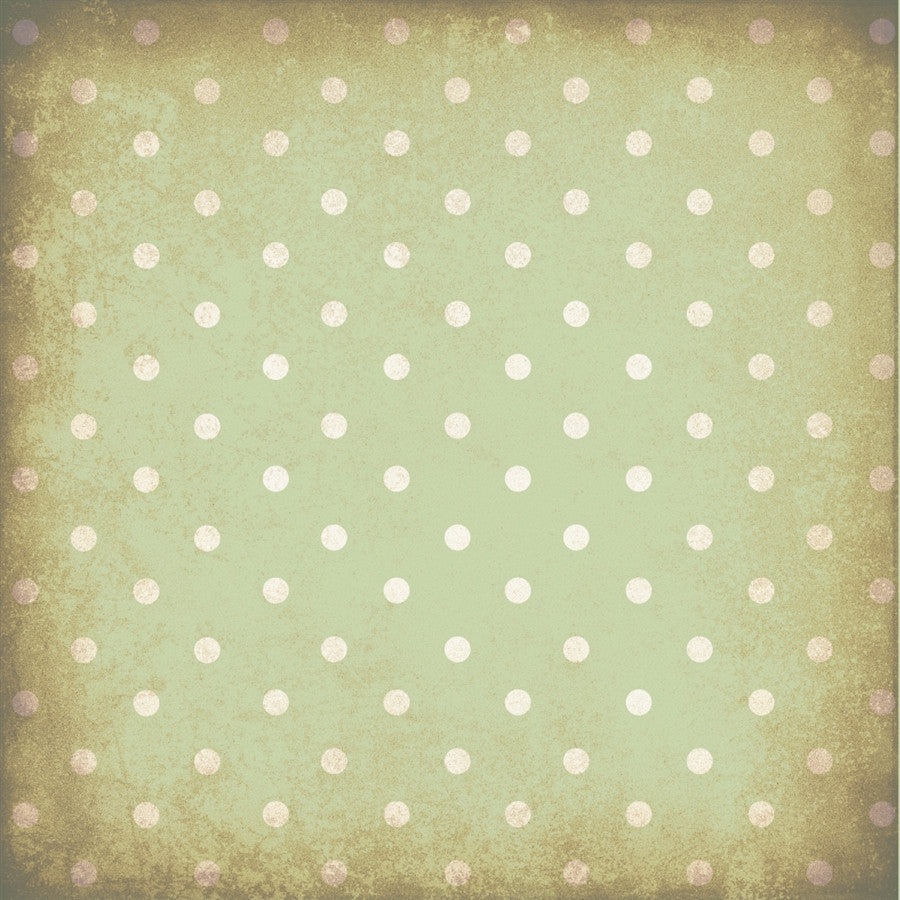 Polka Dot Backdrop Grungy Green Wallpaper