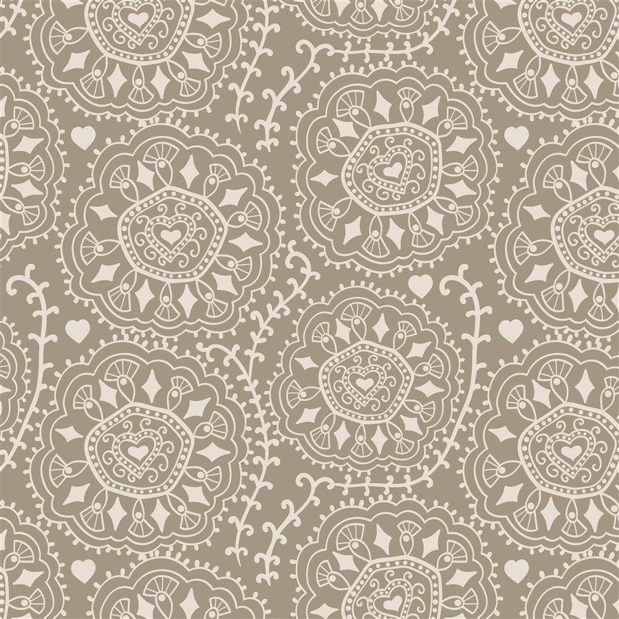 Pattern Backdrop Diamond Swirl Ash