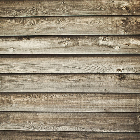 Quick Clean Wood Backdrop Floordrop Sunny Day Barnwood
