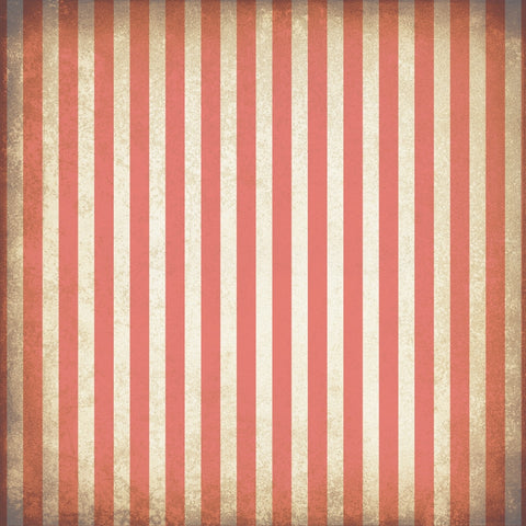 Stripe Backdrop Grungy Coral