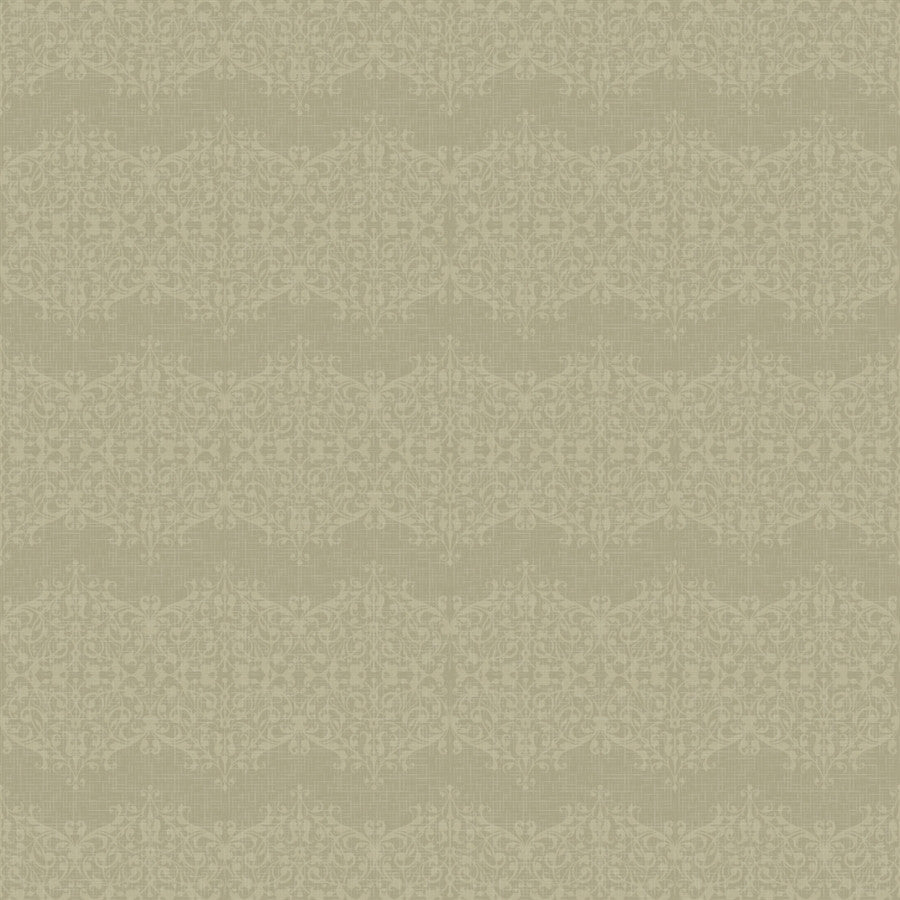 Vintage Backdrop Hessian Lace in Olive