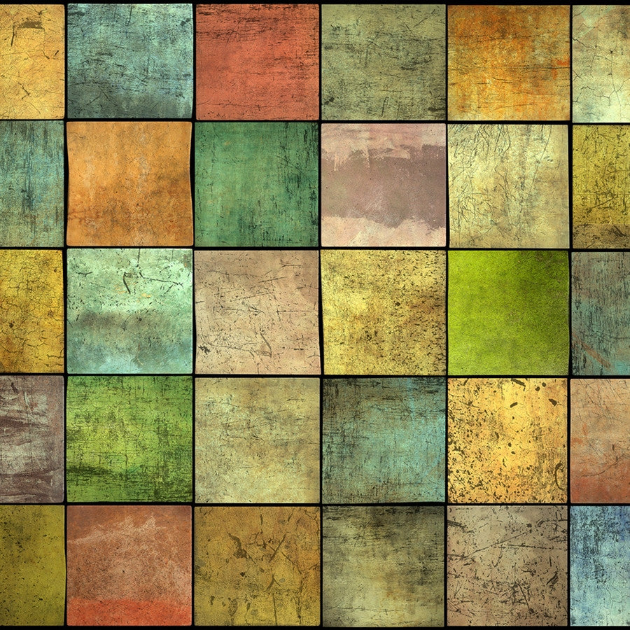 Wood Backdrop Multicolor Patchwork Barnwood
