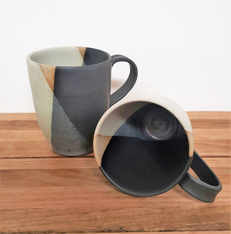 Geometrix Night & Day Mugs