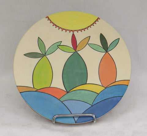 beach Scene Platter by Georgie Waldron