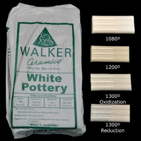 Walker Ceramics White Pottery