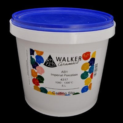 Walker Ceramics Imperial Porcelain 4317 Slip